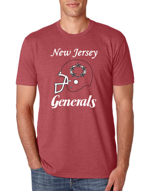 New Jersey Generals red Tee