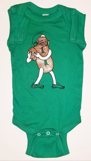Philly Soft Pretzel Football Onesie
