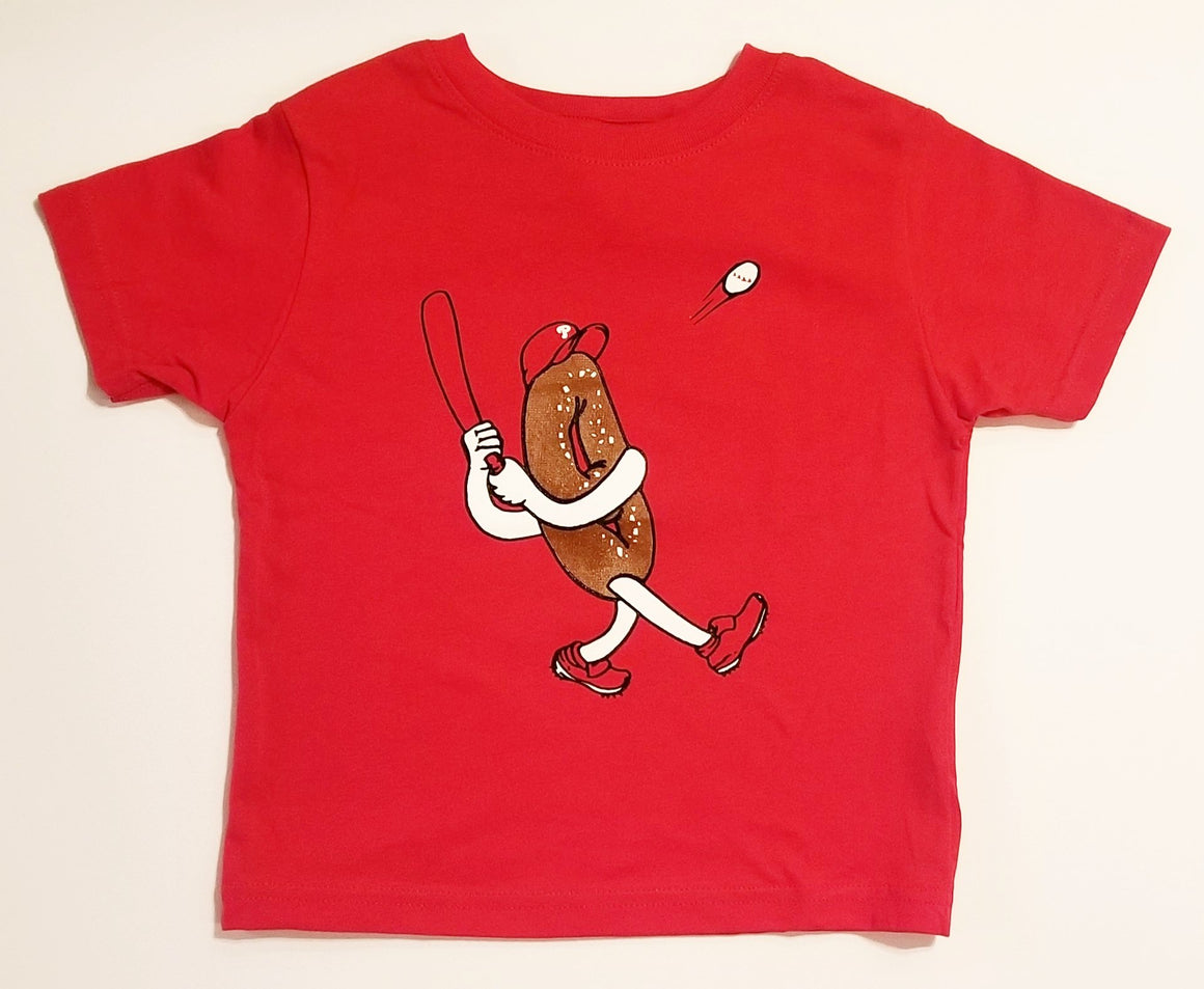 Philly Soft Pretzel Baseball Toddler T-shirt