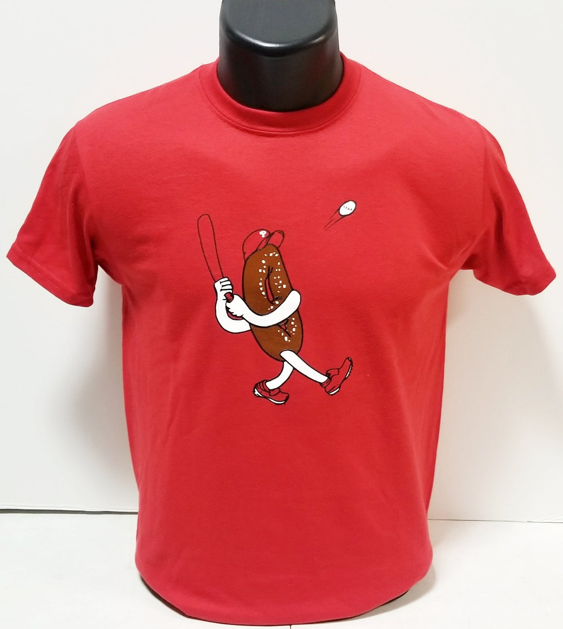 Philly Soft Pretzel Baseball Youth T-Shirt