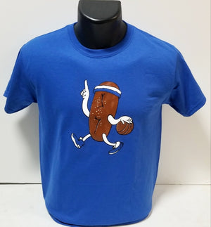 Philly Soft Pretzel Basketball Youth T-Shirt