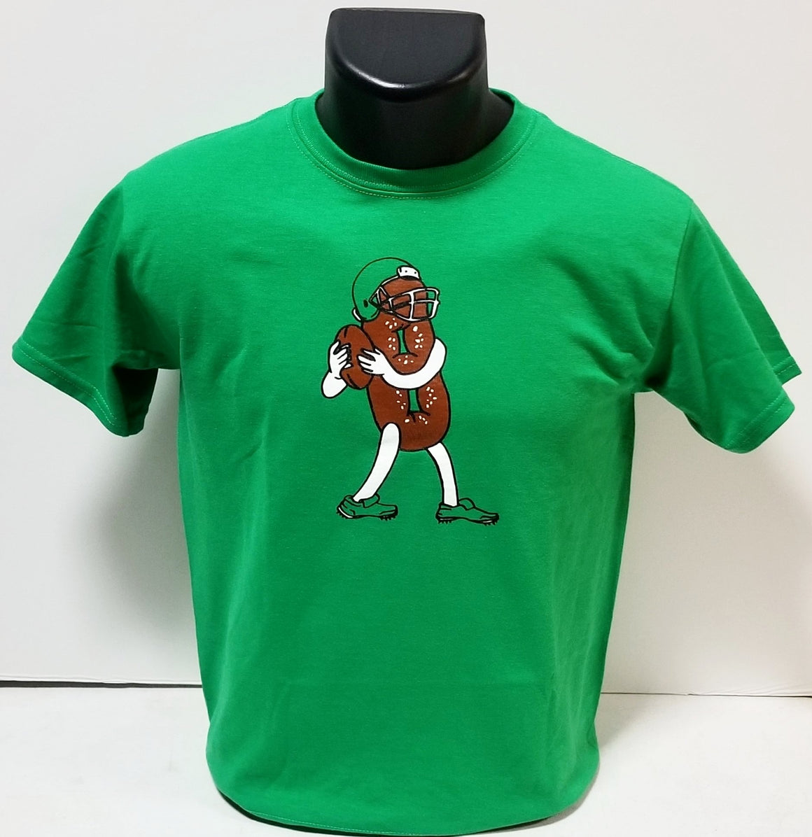Philly Soft Pretzel Football Youth T-Shirt
