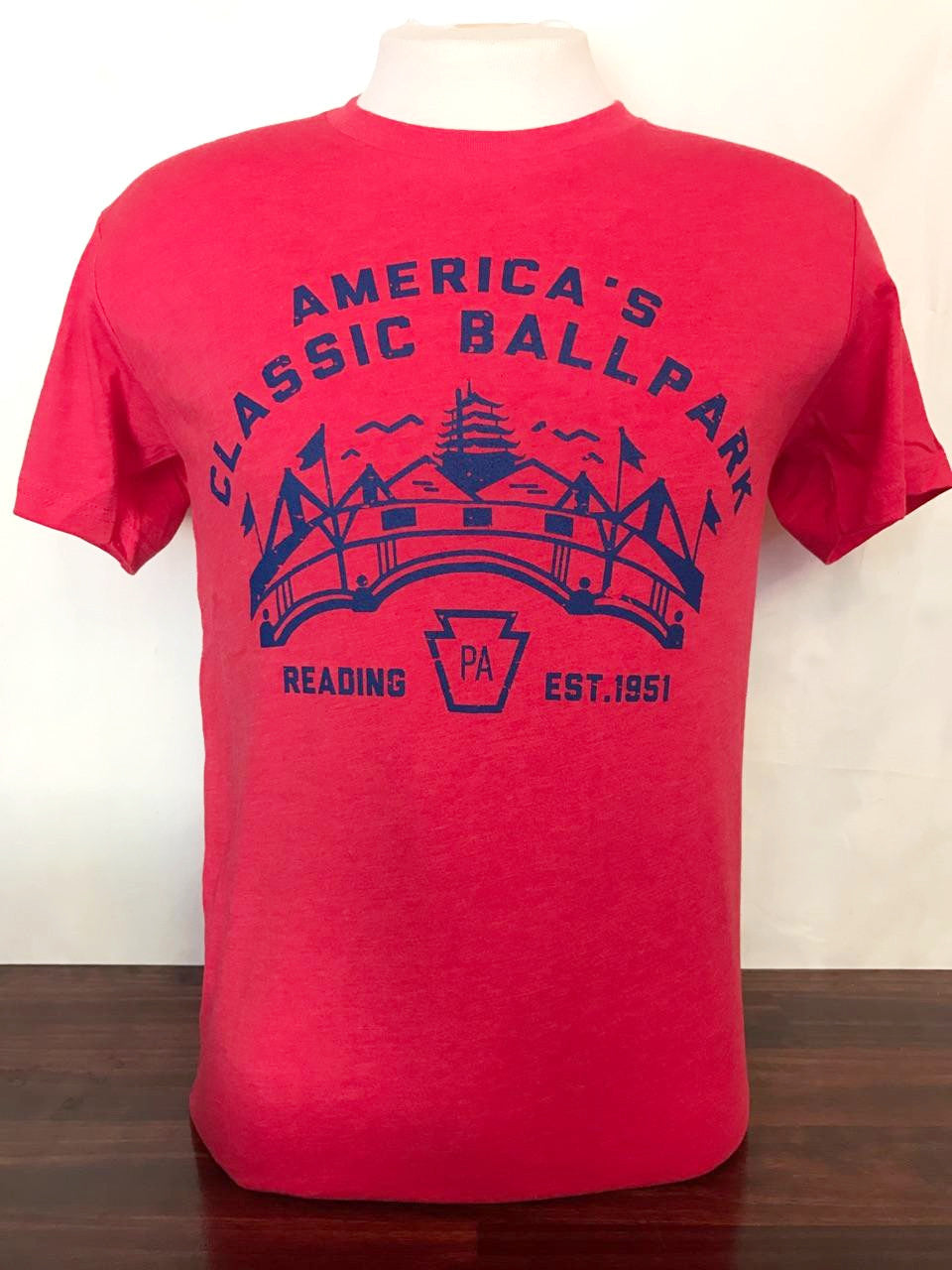 Reading Vintage Ballpark Shirt