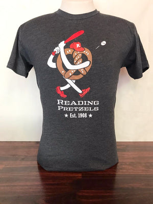 Reading Pretzels Vintage Baseball Shirt