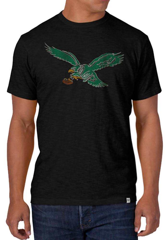 Philadelphia Eagles Legacy Jet Black Men's Scrum T-shirt