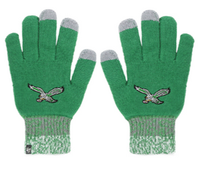 Philadelphia Eagles Static Gloves Green
