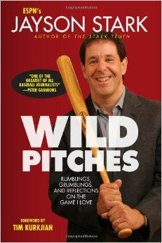 "Signed Copy of ""Wild Pitches"" by Jayson Stark"