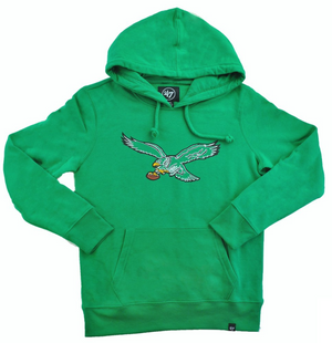 Philadelphia Eagles Women's Kelly Green Hoodie
