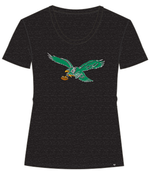 Philadelphia Eagles Vintage Scoop Women's Tee