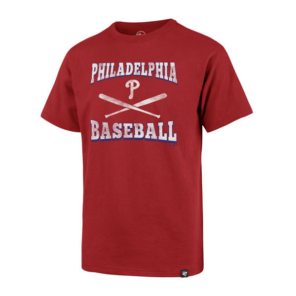 Philadelphia Phillies Batter Up Super Rival Youth Red Shirt