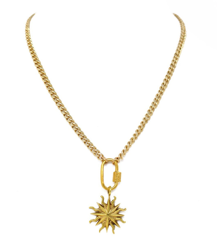 Eight pointed star necklace - Laura Cantu Jewelry - Mx