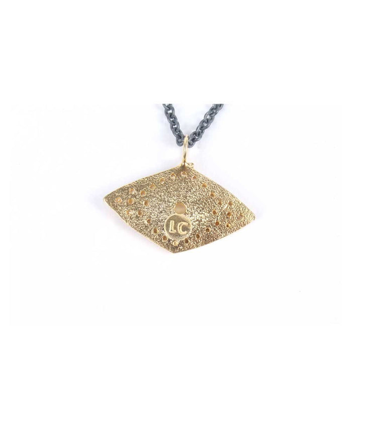 Gold Plated Protection Eye - Laura Cantu Jewelry - Mx