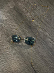Kyta eyeglass chian duo - Laura Cantu Jewelry - Mx