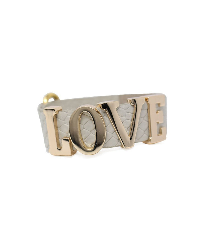 LOVE bracelet - Laura Cantu Jewelry - Mx