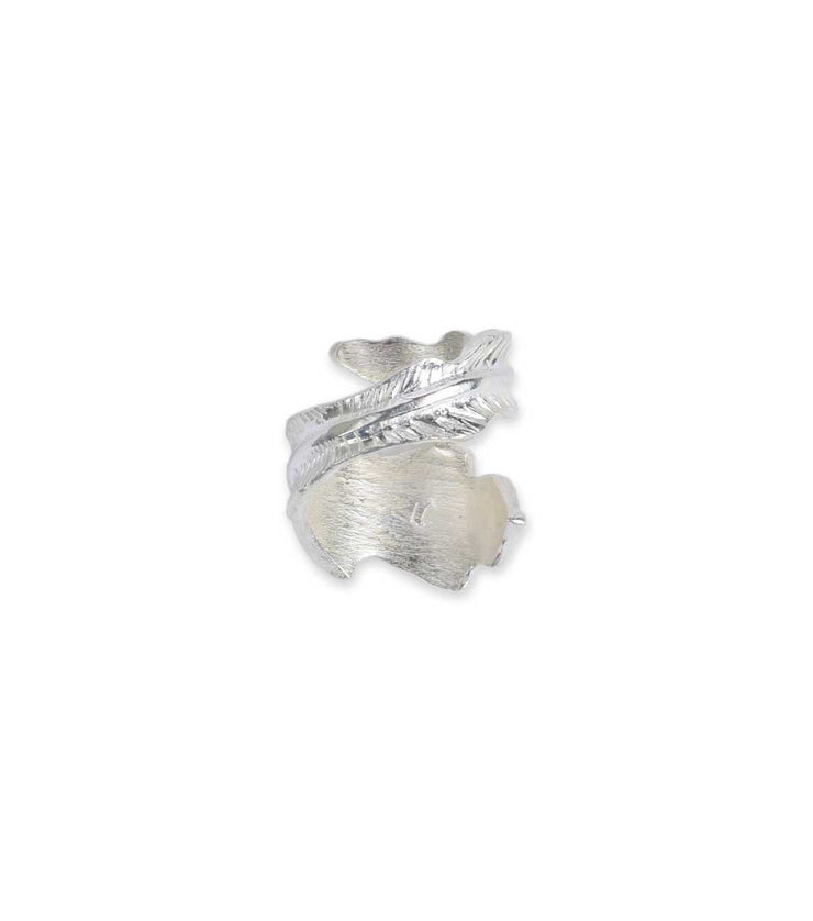 Silver small Leaf Ring - Laura Cantu Jewelry - Mx