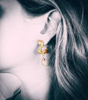 Snake hoops - Laura Cantu Jewelry - Mx
