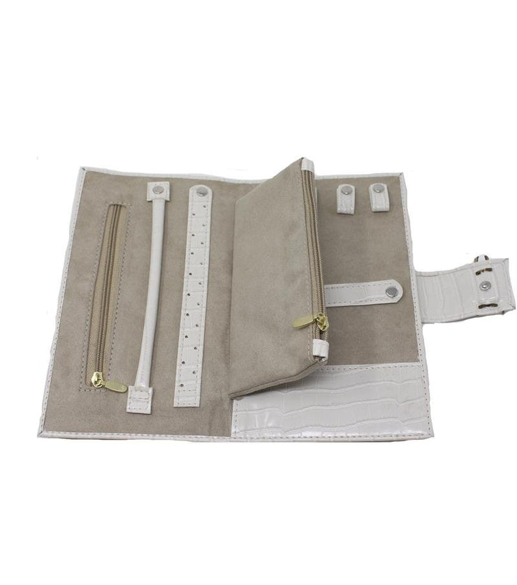 Travel Organizer (White) - Laura Cantu Jewelry - Mx