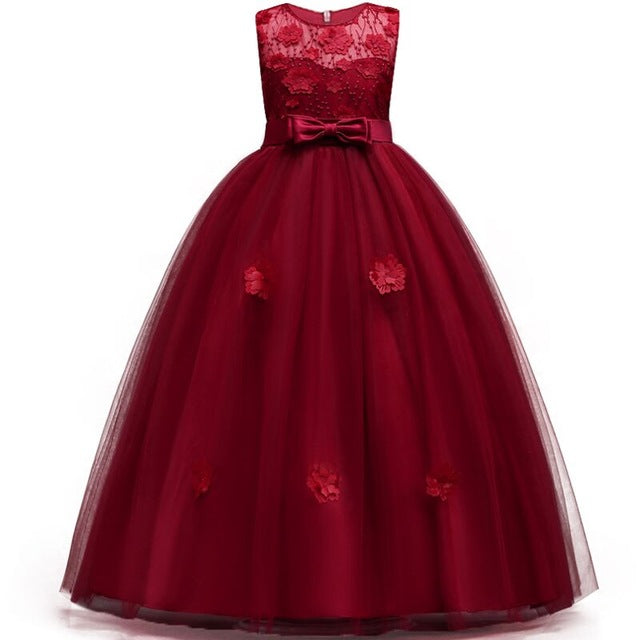 9911355522 5-14Y Teenager Girls Dresse For Birthday Party s Kids Party Ball ...