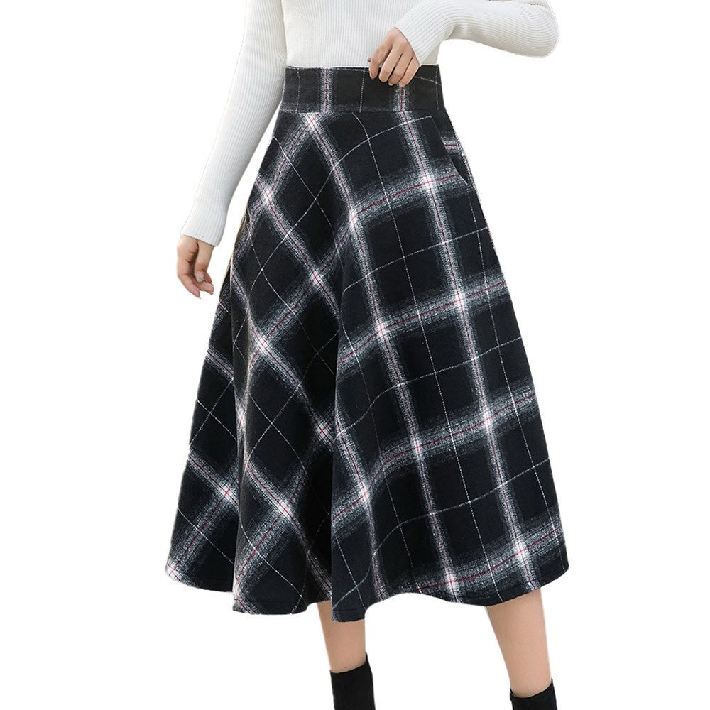 6c6455a47 High Waisted Maxi Flare Skirt – DACC