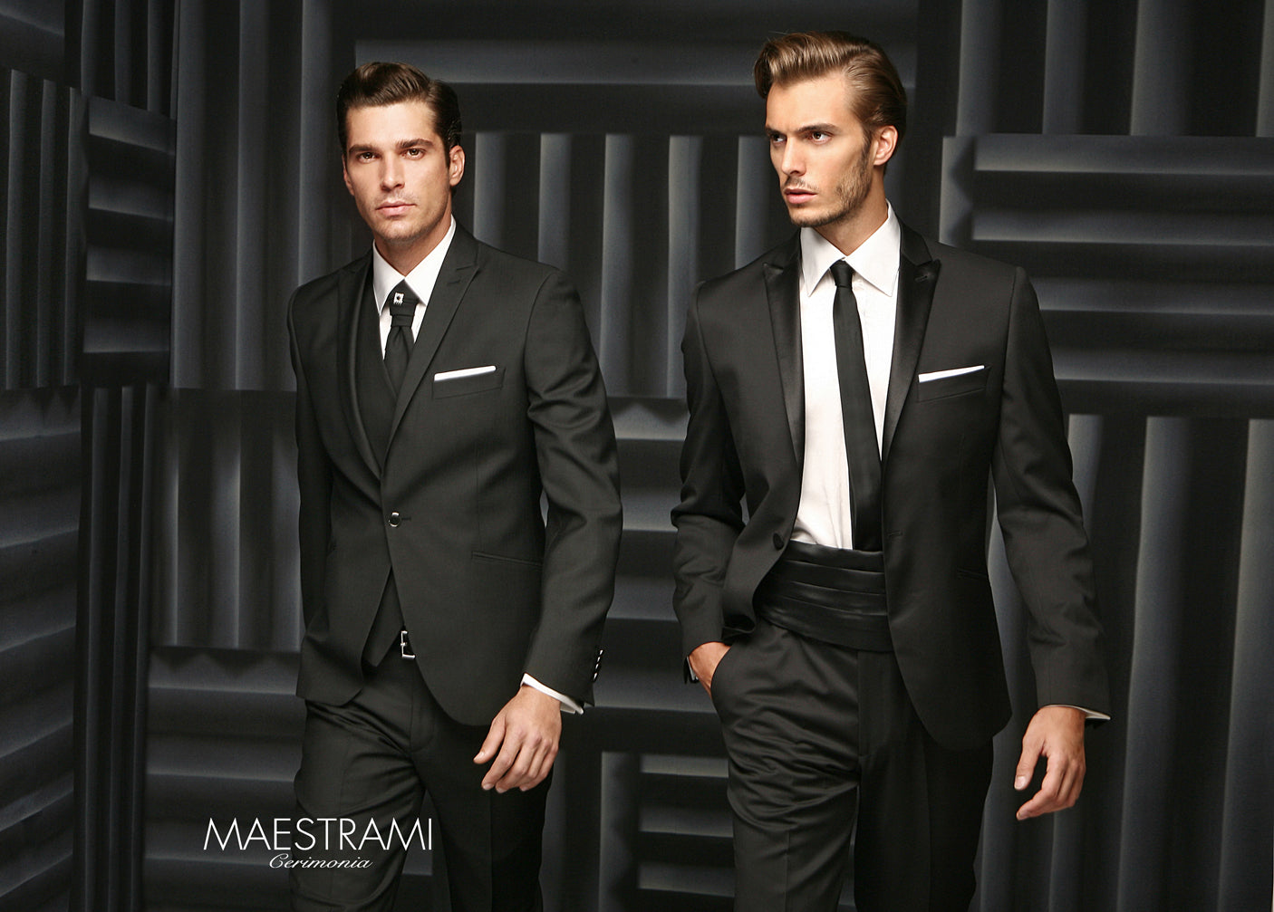 MAESTRAMI Custom Made Italian Suit 1323