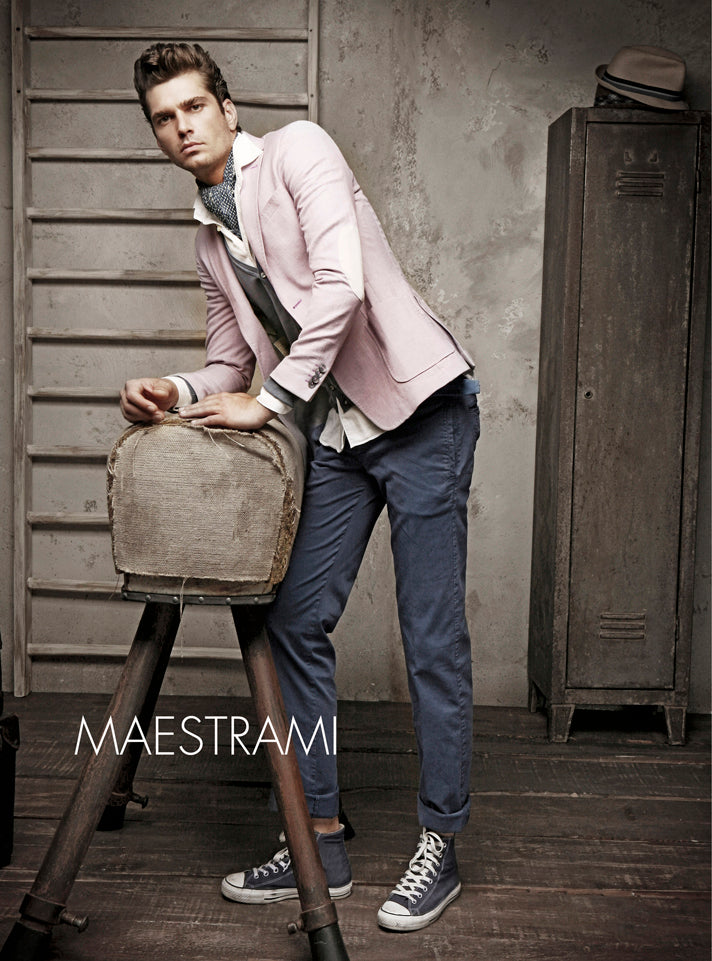 Maestrami Light Pink Jacket