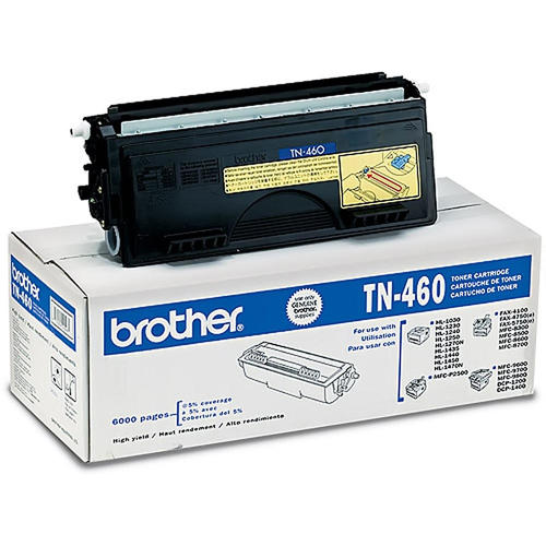 Open box-Brother TN460 black toner cartridge high yield version of TN430 authentic product for brother-1/package