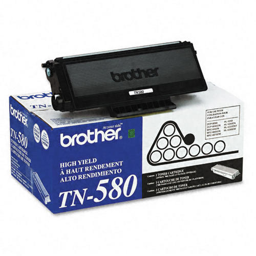 Brother® - Black TN-580 High Yield Toner Cartridge