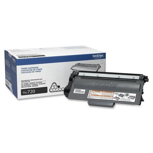 Brother® - TN-720 Black Toner Cartridge, Standard Yield (TN720)
