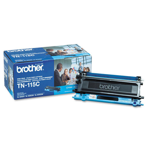 Brother® - TN-115 High Yield Cyan Toner Cartridge (TN115C)