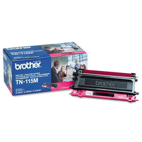 Brother® – Cartouche de toner TN-115 magenta rendement élevé (TN115M)