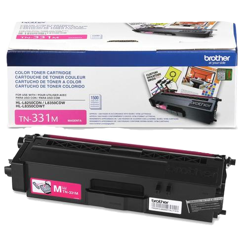 Brother® – Cartouche de toner TN-331 magenta rendement standard (TN331M) - S.O.S Cartouches inc.