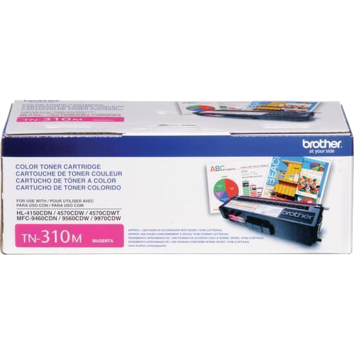 Brother® – Cartouche de toner TN-310 magenta rendement standard (TN310M) - S.O.S Cartouches inc.