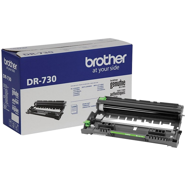 Brother® – Tambour (DRUM)  DR-730 rendement stantard (DR730) - S.O.S Cartouches inc.