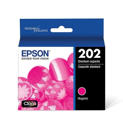Epson® – Cartouche d'encre 202 magenta rendement standard (T202320) - S.O.S Cartouches inc.