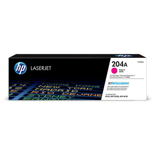 HP® – Cartouche Toner LaserJet 204A magenta rendement standard (CF513A) - S.O.S Cartouches inc.