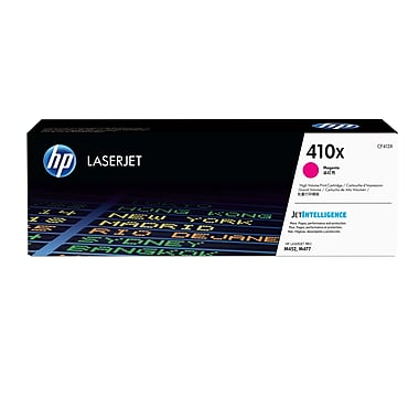 HP410X CF413X cartouche toner magenta version à haut rendement de 410A Cf413A produit originale HP-1/paquet. - S.O.S Cartouches inc.