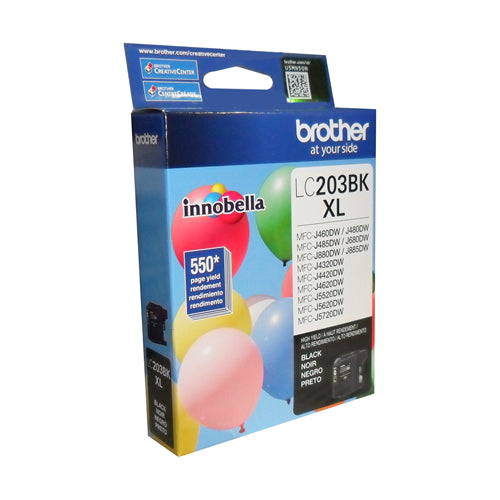 Brother® - LC203 Black Ink Cartridge High Yield (LC203BKS)