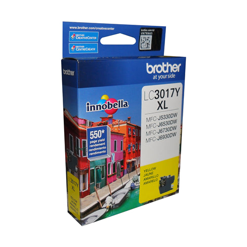 Brother® - LC3017 Ultra High Yield Yellow Ink Cartridge (LC3017YS)