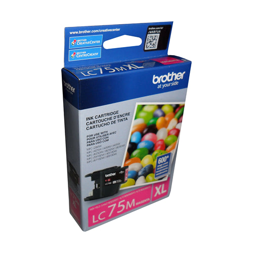 Brother® - LC75 High Yield Magenta Ink Cartridge (LC75MS)