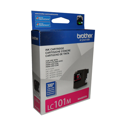 Brother® - LC-101 Magenta Ink Cartridge Standard Yield (LC101MS)