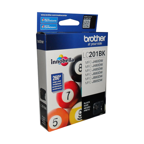 Brother® - LC-201 Black Ink Cartridge Standard Performance (LC201KS)
