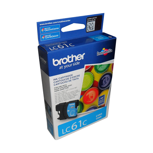 Brother® – Cartouche d'encre LC-61 cyan rendement stantard (LC61CS)