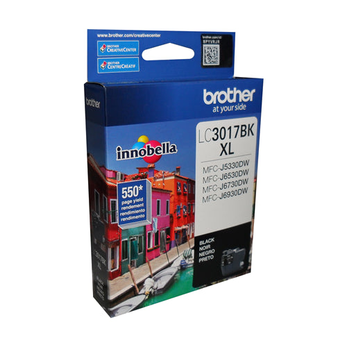 Brother® - LC3017 Black Ultra High Yield Ink Cartridge (LC3017BKS)