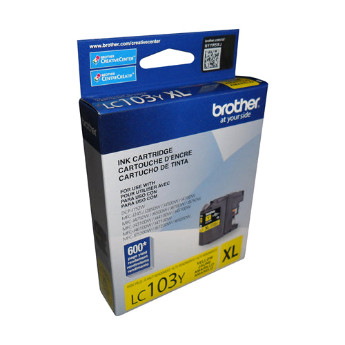 Brother® - LC-203 High Yield Yellow Ink Cartridge (LC203YS)