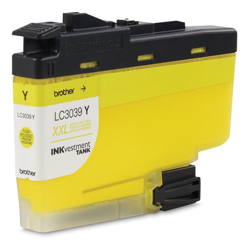 Brother® - LC3039 Yellow High Yield Ink Cartridge (LC3039YS)