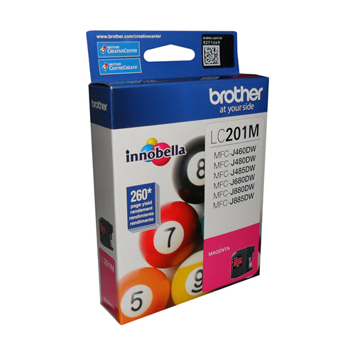 Brother® - LC-201 Magenta Ink Cartridge Standard Performance (LC201MS)