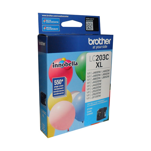 Brother® - LC203 High Yield Cyan Ink Cartridge (LC203CS)