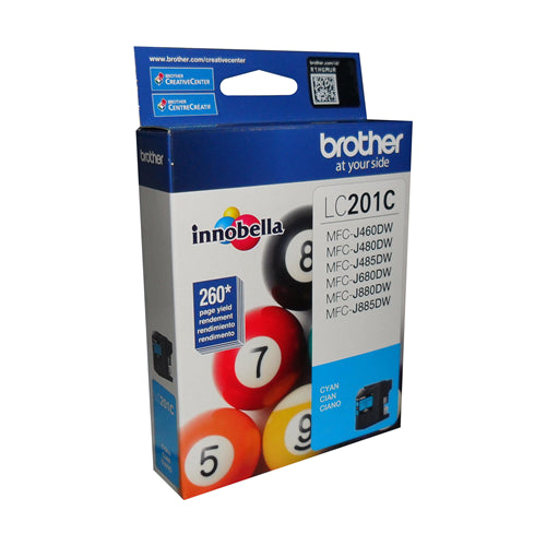 Brother® - LC-201 Cyan Standard Yield Ink Cartridge (LC201CS)