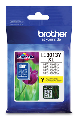 Brother® - LC-3013 High Yield Yellow Ink Cartridge (LC3013YS)