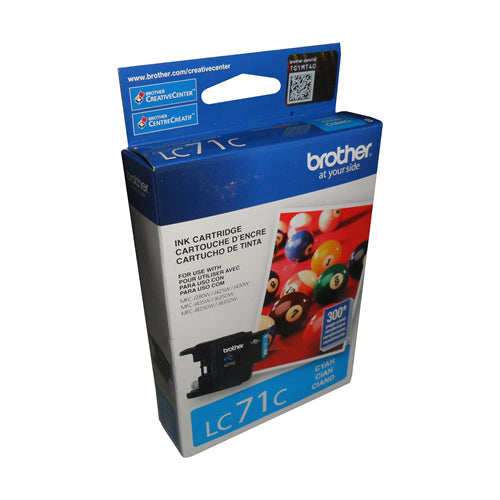 Brother® - LC-71 Cyan Ink Cartridge Standard Performance (LC71CS)